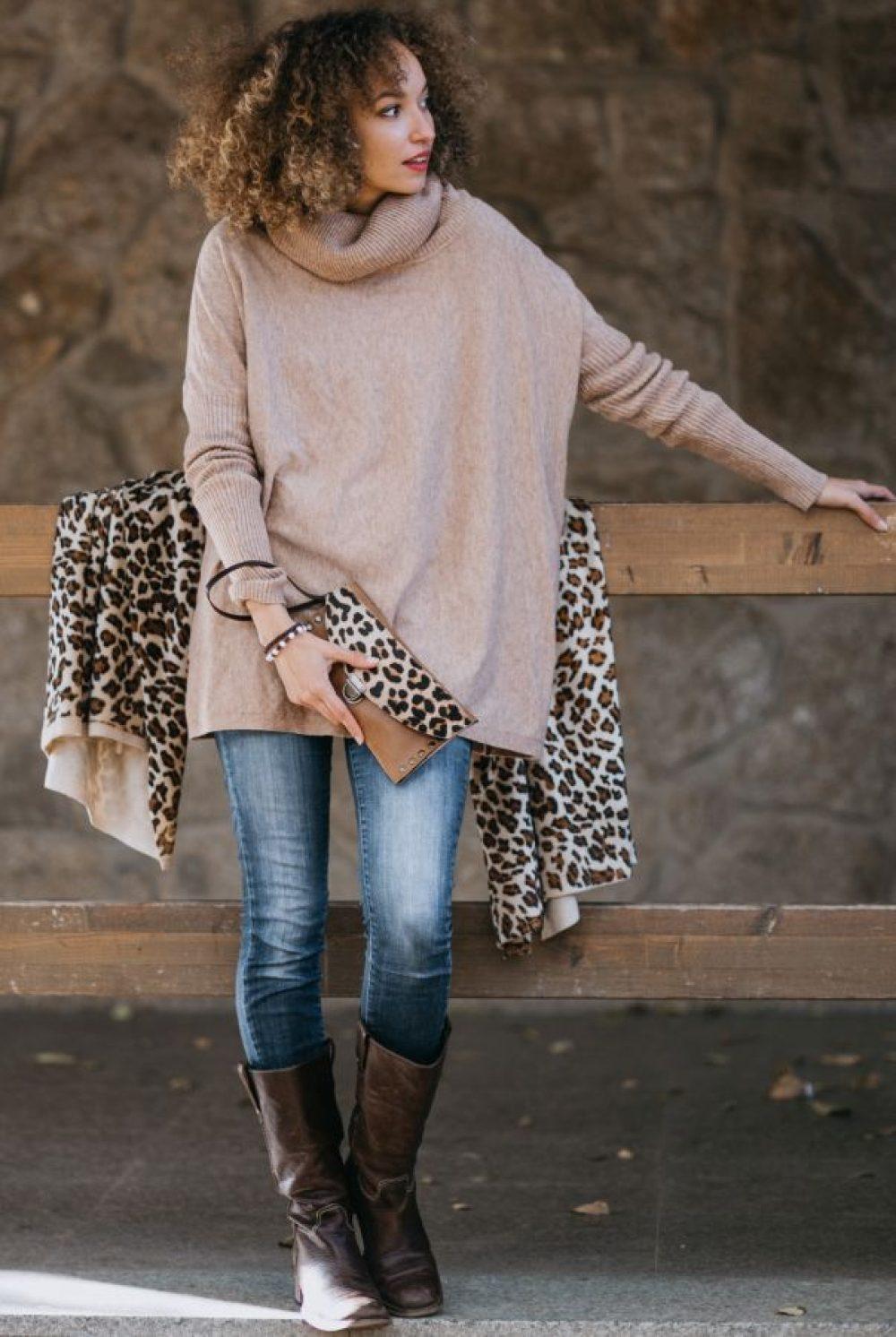 cartera animal print leopardo cartera de piel leopardo